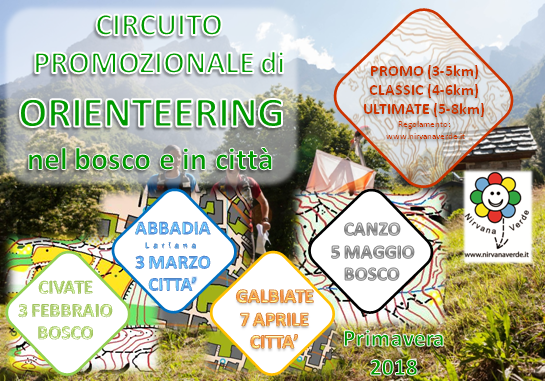 Circuito Promozionale di Orienteering