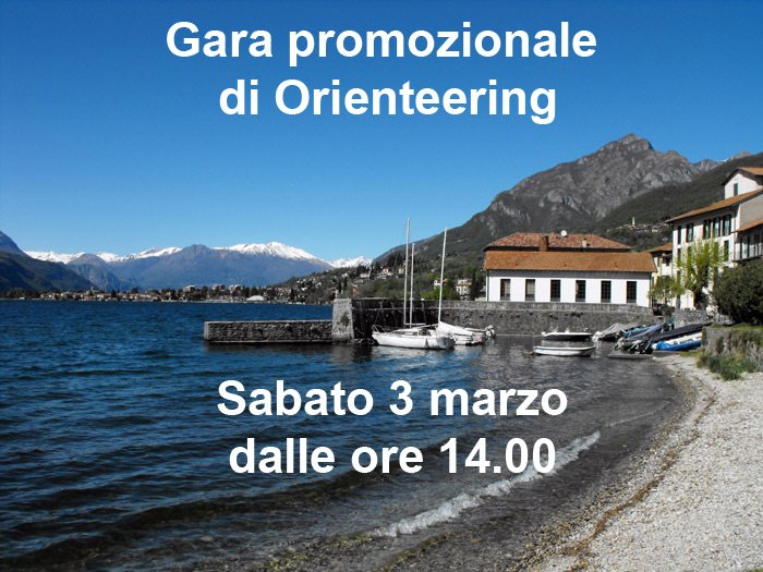 Gara promozionale di Orienteering ad Abbadia Lariana