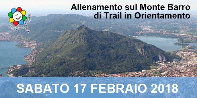 2° allenamento invernale di Trail in orientamento: Monte Barro