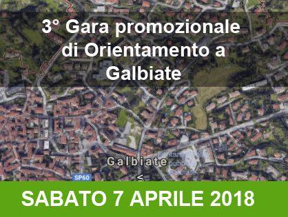 Gara promozionale di orienteering a Galbiate