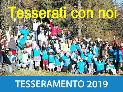 Tesserati con noi per la stagione di orienteering 2019